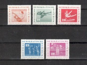 DDR Michelnummer 707 - 711 postfrisch