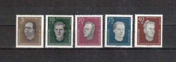 DDR Michelnummer 752 - 756 postfrisch
