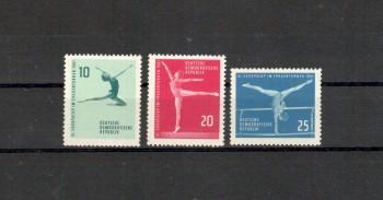 DDR Michelnummer 830 - 832 postfrisch