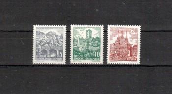 DDR Michelnummer 835 - 837 postfrisch