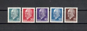 DDR Michelnummer 934 - 938 postfrisch