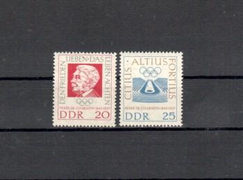 DDR Michelnummer 939 - 940 postfrisch