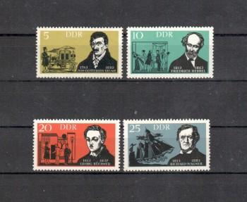 DDR Michelnummer 952 - 955 postfrisch