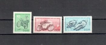 DDR Michelnummer 972 - 974 postfrisch