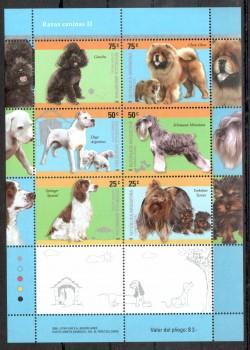Hunde 010 Argentinien Michelnummer 3056 - 3061 postfrisch