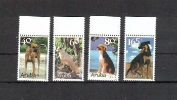 Hunde 013 Aruba Michelnummer 236 - 239 postfrisch