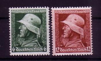 Deutsches Reich Michelnummer 569 - 570 y postfrisch