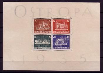 Deutsches Reich Michelnummer 576 - 579 Block 3 postfrisch