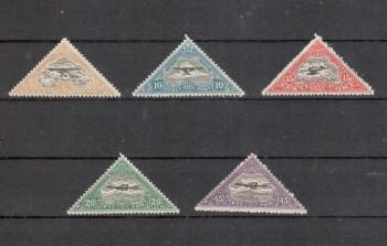 Estland Michelnummer 48 - 52 A postfrisch