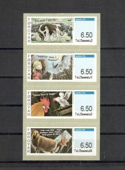 Faroer Michelnummer ATM 13 - 16 postfrisch