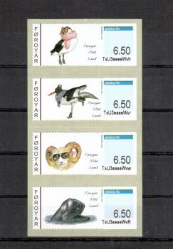 Faroer Michelnummer ATM 17 - 20 postfrisch