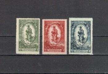 Liechtenstein Michelnummer 40 - 42 postfrisch
