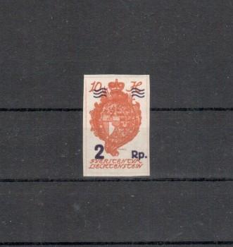 Liechtenstein Michelnummer 43 postfrisch Falz