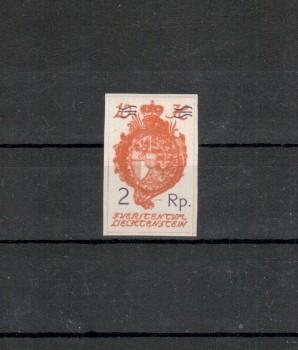 Liechtenstein Michelnummer 44 postfrisch Falz
