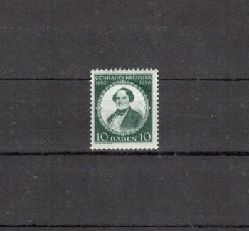 Baden Michelnummer 53 postfrisch