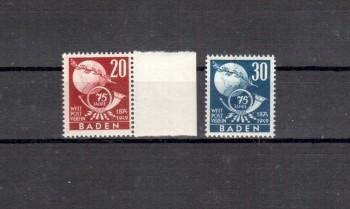 Baden Michelnummer 56 - 57 postfrisch