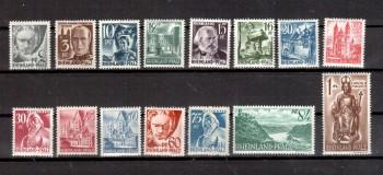 Rheinland - Pfalz Michelnummer 1 - 15 postfrisch