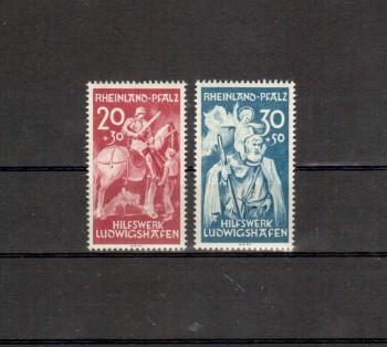 Rheinland - Pfalz Michelnummer 30 - 31 postfrisch