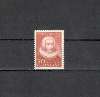 Groenland Michelnummer 42 postfrisch
