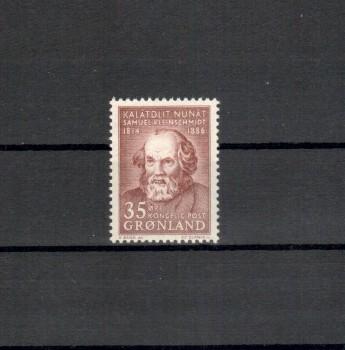 Groenland Michelnummer 64 postfrisch