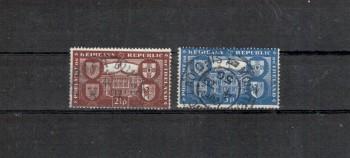 Irland Michelnummer 108 - 109 gestempelt