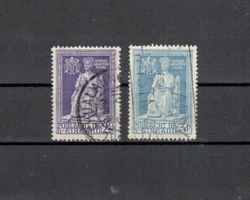 Irland Michelnummer 111 - 112 gestempelt