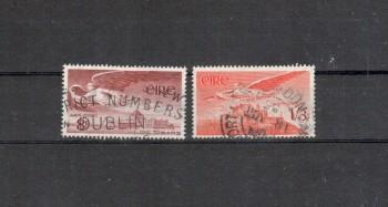 Irland Michelnummer 124 - 125 gestempelt