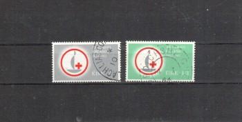 Irland Michelnummer 161 - 162 gestempelt