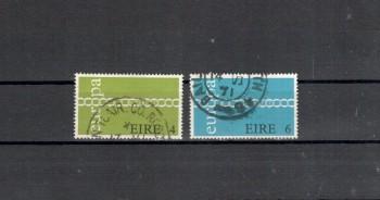 Irland Michelnummer 265 - 266  gestempelt