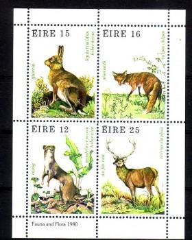 Irland Michelnummer 421 - 424 Block 3 postfrisch