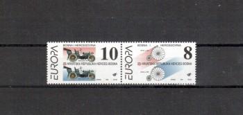 B + H , Mostar Michelnummer 17 - 18 postfrisch