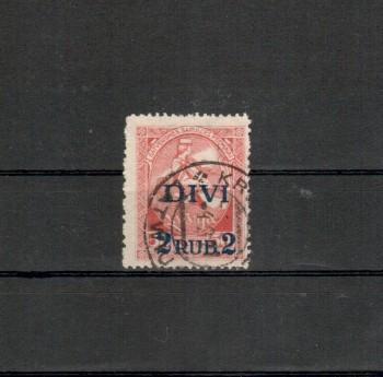 Lettland Michelnummer 64 gestempelt