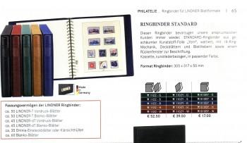 Lindner Ringbinder Standard gruen  1102Y - G Neu