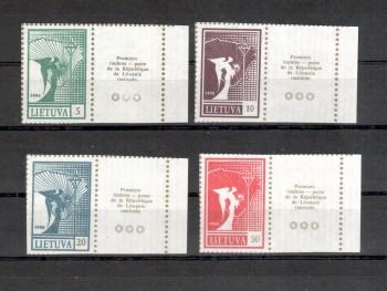 Litauen Michelnummer 461 - 464 postfrisch