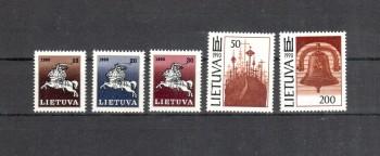 Litauen Michelnummer 465 - 469 postfrisch