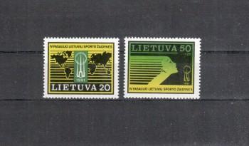 Litauen Michelnummer 482 - 483 postfrisch