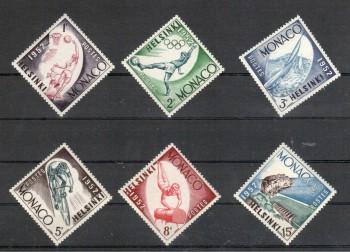 Monako Michelnummer 458 - 463 postfrisch