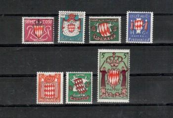Monako Michelnummer 479 - 485 postfrisch