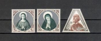 Monako Michelnummer 523 - 525 postfrisch