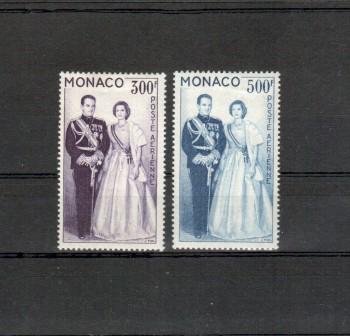 Monako Michelnummer 603 - 604 postfrisch Falz
