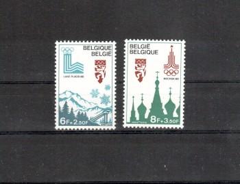 moskau010 Belgien Michelnummer 1965 - 1966 postfrisch