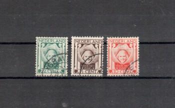 Niederlande Michelnummer 143 - 145 gestempelt