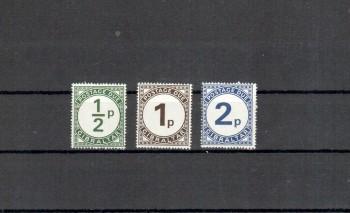 Gibraltar Michelnummer Porto 4 - 6 postfrisch