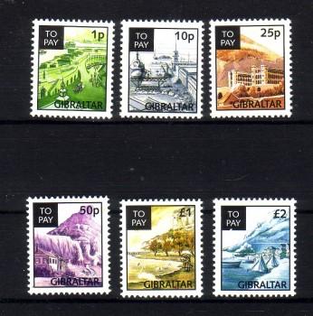 Gibraltar Michelnummer Porto 13 - 19 postfrisch