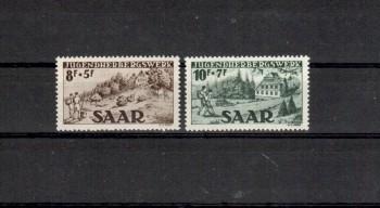 Saarland Michelnummer 262 - 263 postfrisch