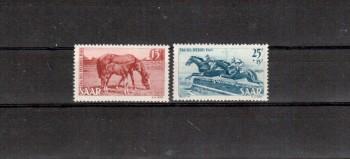 Saarland Michelnummer 265 - 266 postfrisch