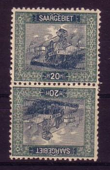 Saargebiet Michelnummer 55 A KDR III postfrisch