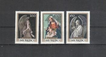 San Marino Michelnummer 1267 - 1269 postfrisch