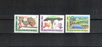 San Marino Michelnummer 1409 - 1411 postfrisch