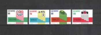 San Marino Michelnummer 1412 - 1415 postfrisch